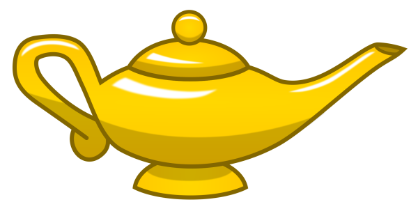 600x300 Gold Magic Lamp By Makatoons On Newgrounds