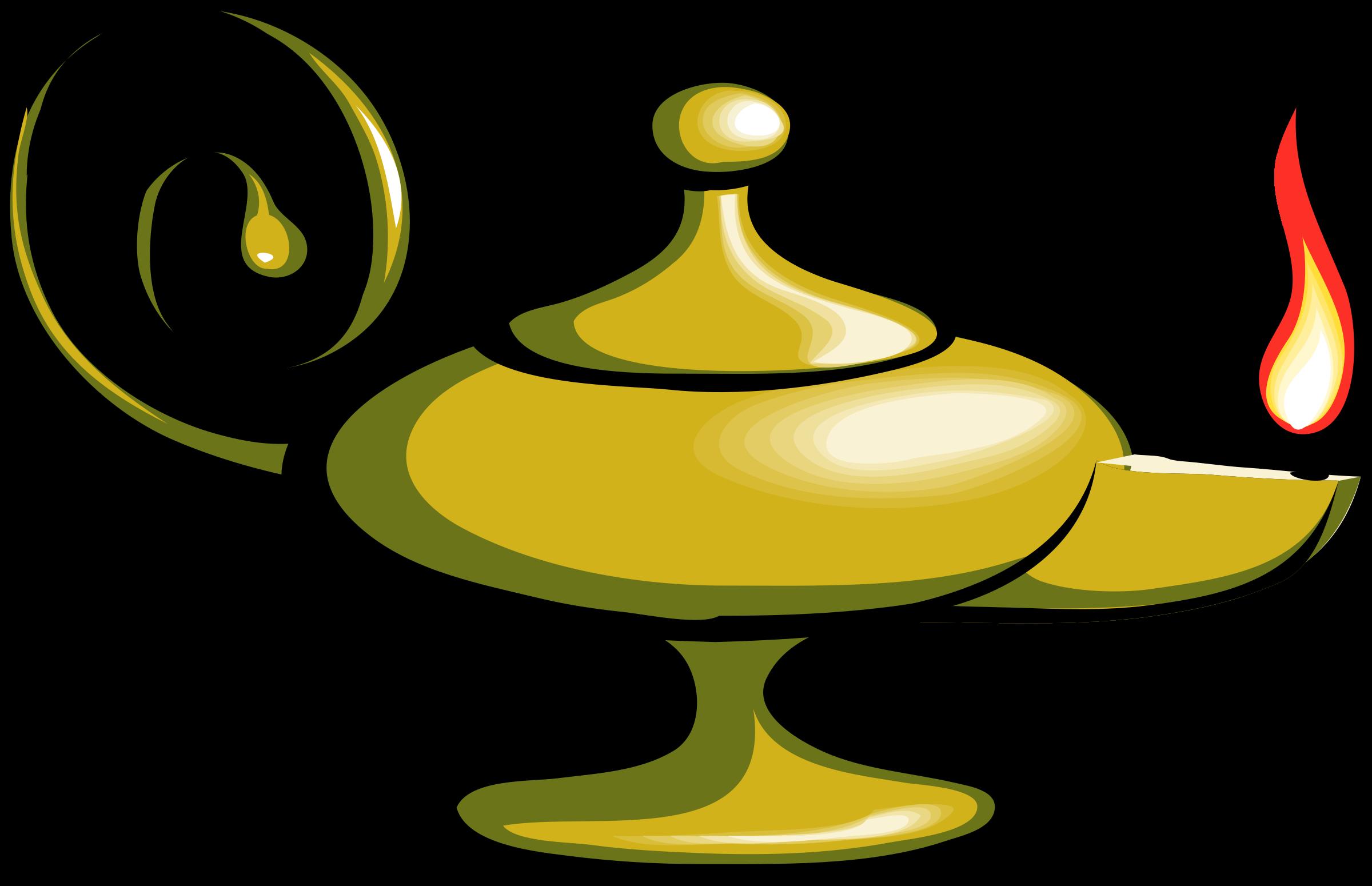 2400x1550 Magic Lamp Aladdin Clip Art Clipart Panda