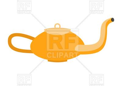 400x284 Magic Lamp Of Aladdin. Arabic Gold Vessel For Oil. Royalty Free