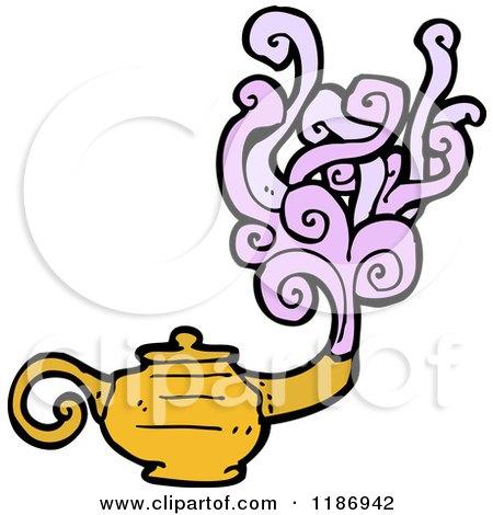450x470 Royalty Free (Rf) Magic Lamp Clipart, Illustrations, Vector
