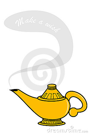 300x450 Aladdin Genie Lamp Clip Art