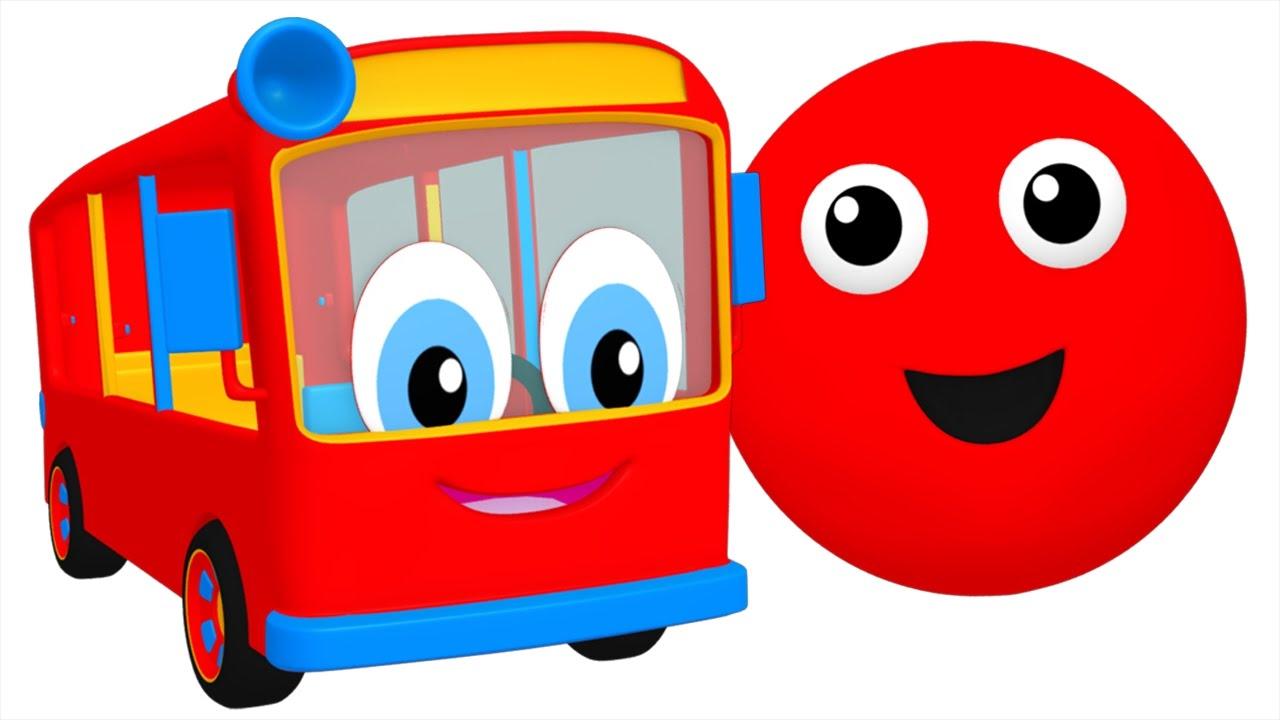 1280x720 Bus Clipart Colorful