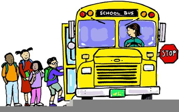 600x375 School Bus Stop Clipart Free Images