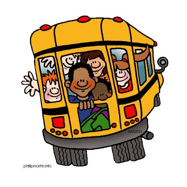 600x600 Bus Clipart Elementary School