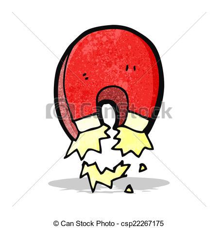 449x470 Cartoon Magnet Vectors Illustration