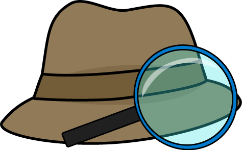 474x294 Detective Hat And Magnifying Glass Clip Art Classroom Ideas