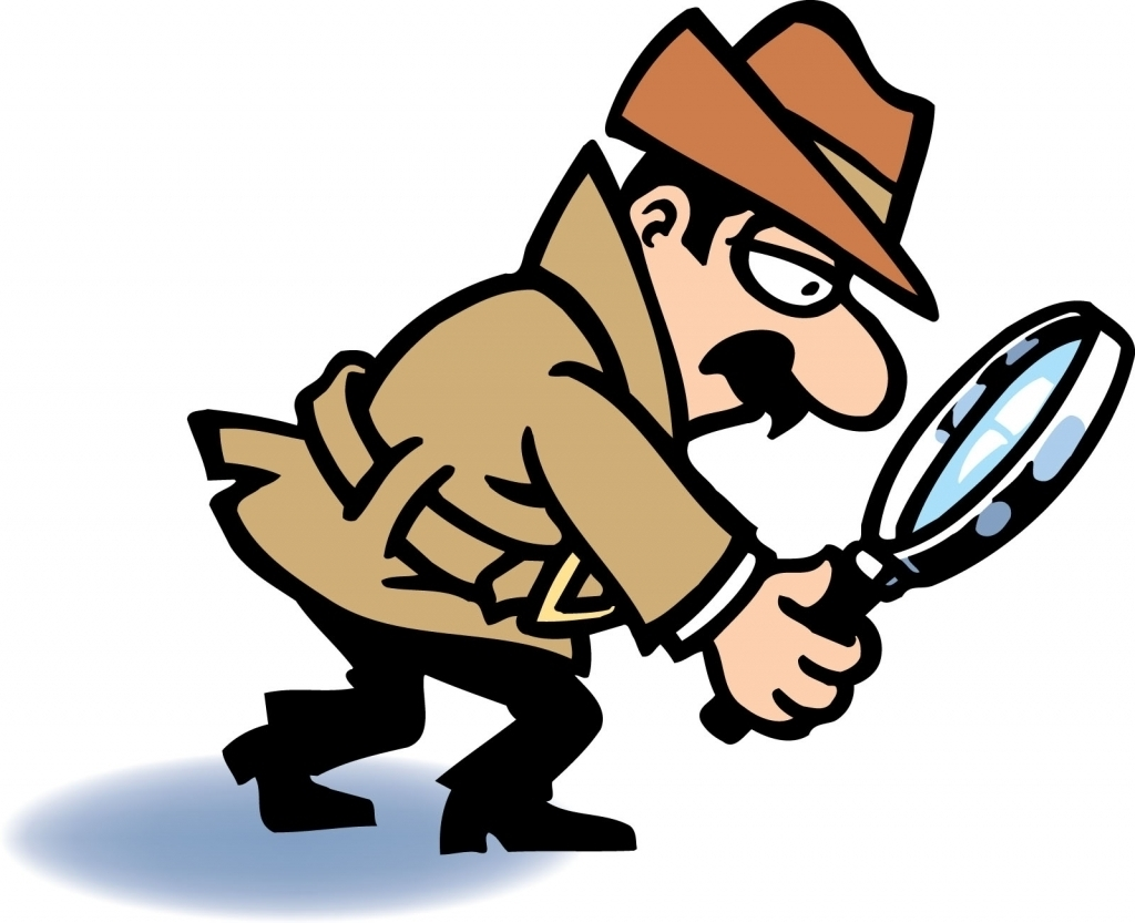 1024x833 Detective With Magnifying Glass Clipart Free Download Clip Art