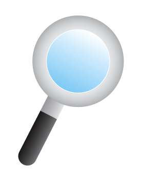 275x350 Free Magnifying Glass Clip Art, Web Graphics