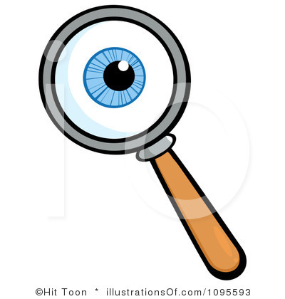 400x420 Magnifying Glass Clipart Free