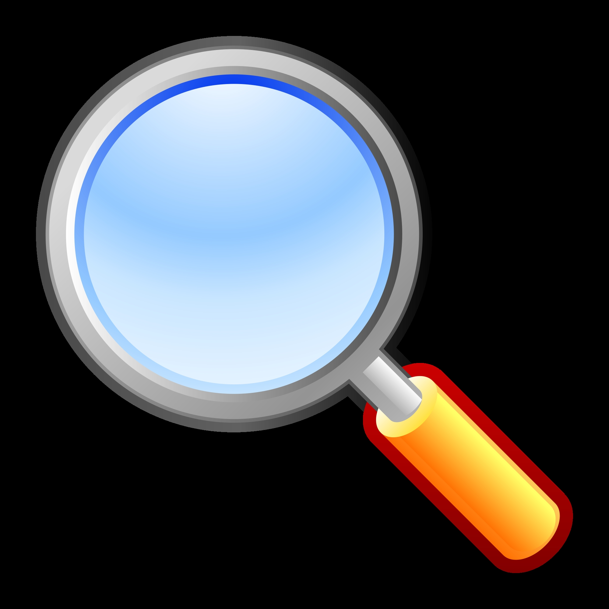 2000x2000 New Magnifying Glass Clipart Collection