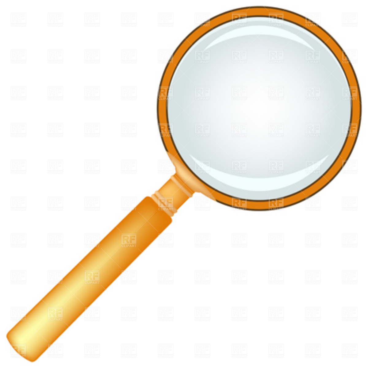 1200x1200 Winsome Ideas Clipart Magnifying Glass Setective S Wooden Royalty