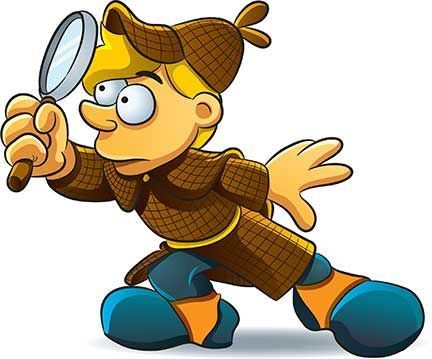 432x359 Best Of Investigation Clipart