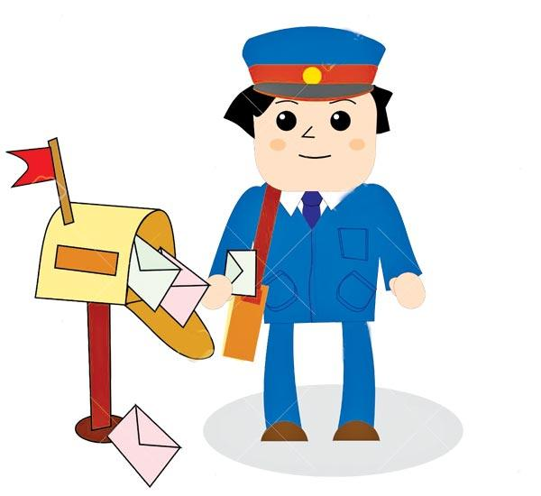 600x550 Letter Clipart Postman Free Collection Download And Share Letter