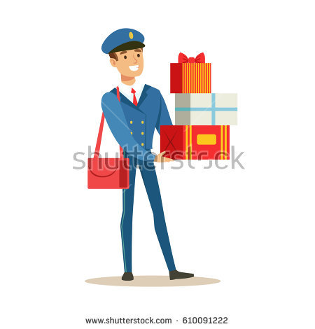 450x470 Uniform Clipart Postman