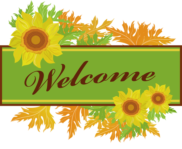 640x523 Make Your Own Welcome Sign Clip Art