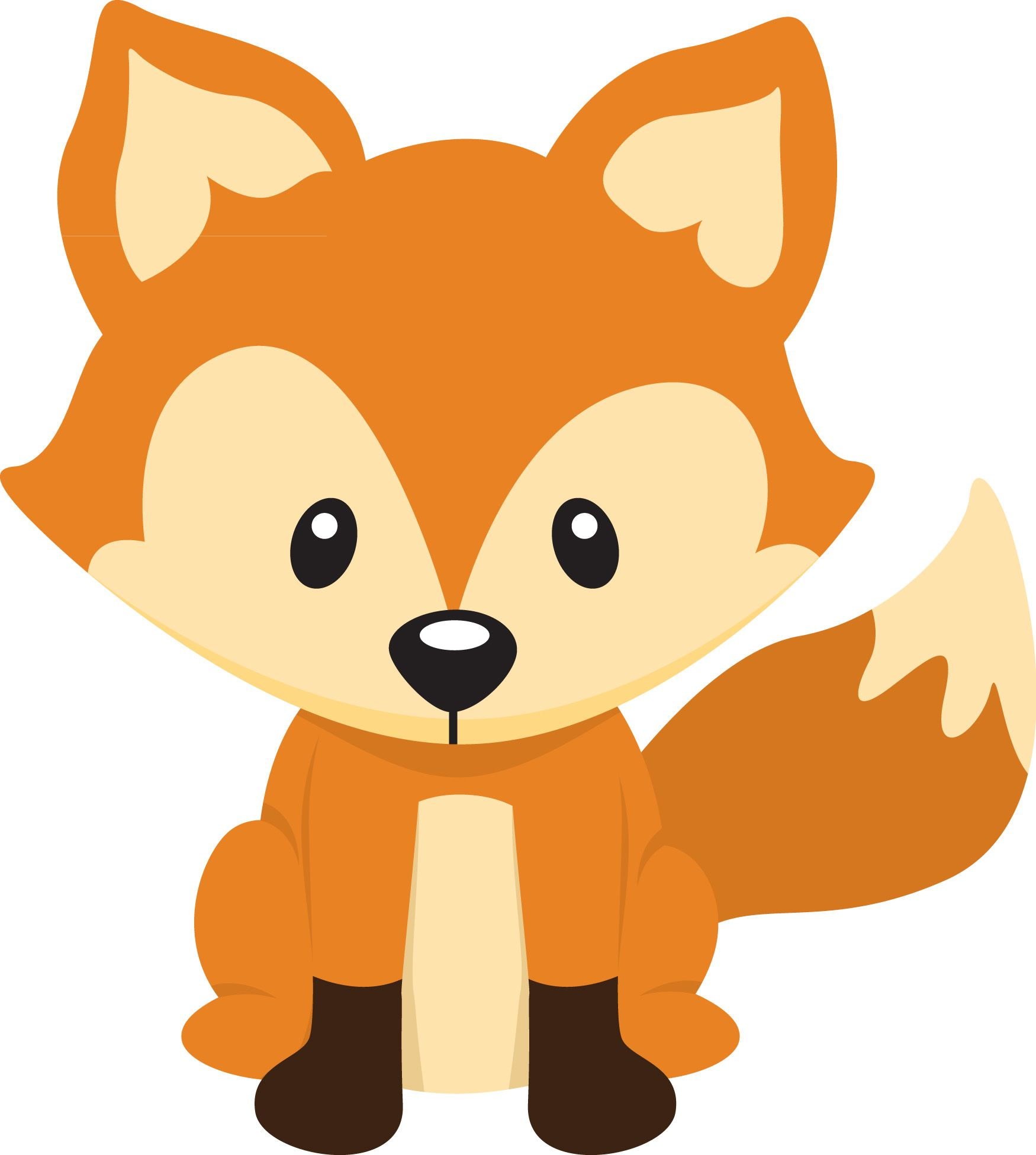 1750x1950 Free Fox Clipart Pictures