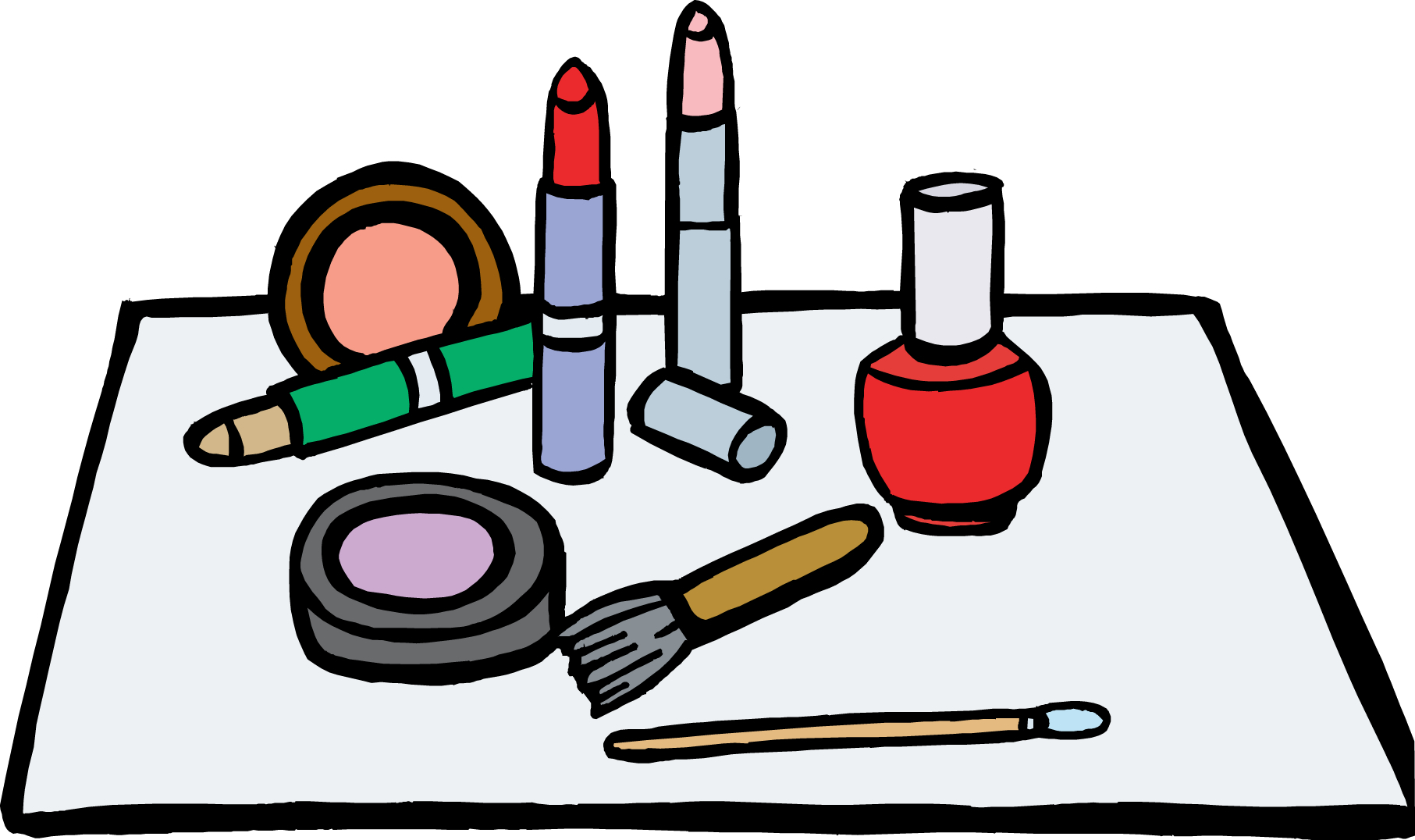 makeup clipart at getdrawingscom free for personal use