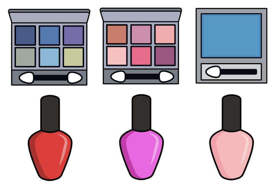 972x648 Makeup Clipart