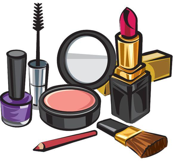 600x541 Makeup Clipart
