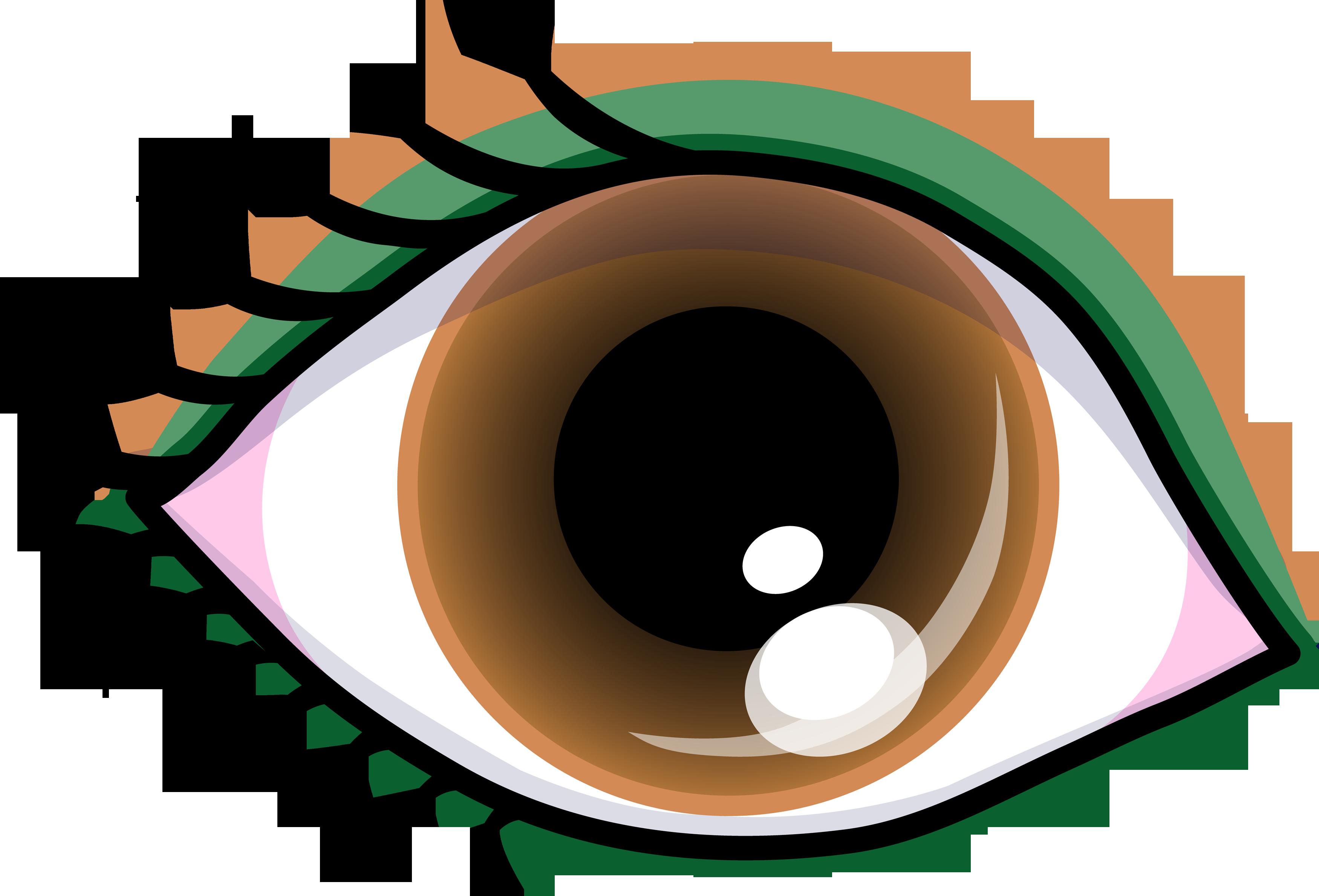 3500x2379 Pretty Brown Eye With Shadow
