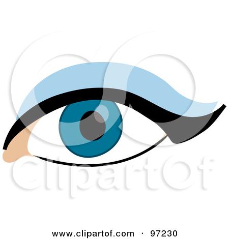 450x470 Clip Art Eye Liner Clipart
