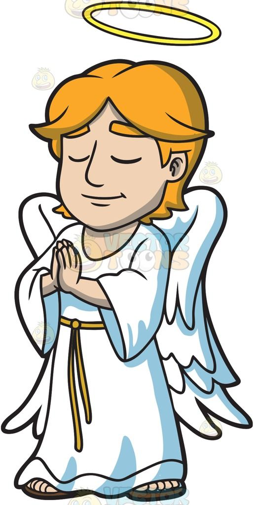 515x1024 A Praying Angel Male Angels And Angel
