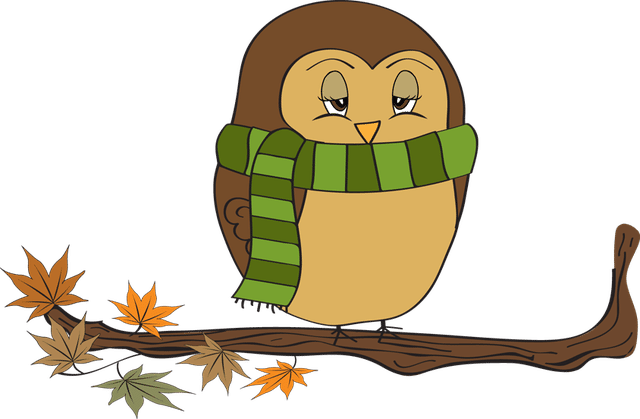 640x419 Colorful Clip Art For The Fall Season Fall Owl Male Clipart