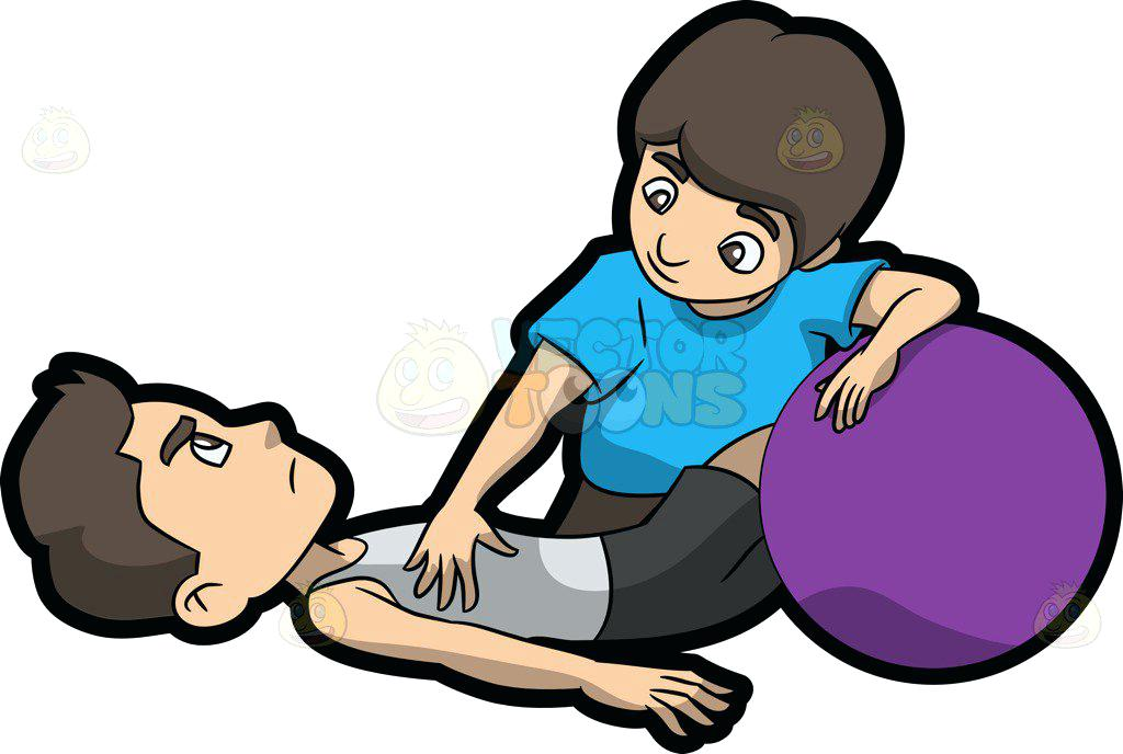 1024x688 Physical Therapist Cliprt Male Physical Therapist Helping
