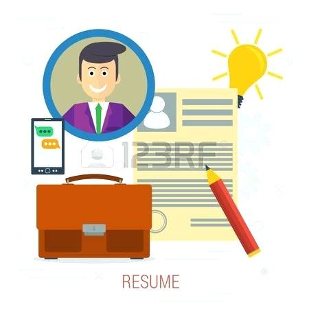 450x450 Resume Clip Art Male Candidates Resume Briefcases And Resume