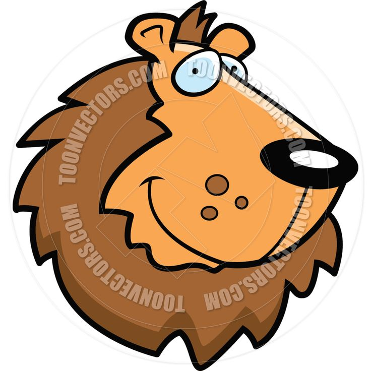 Male Lion Clipart