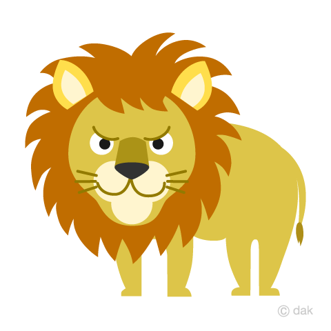 480x480 Free Male Lion Cartoon Amp Clipart Amp Graphics [Ii]