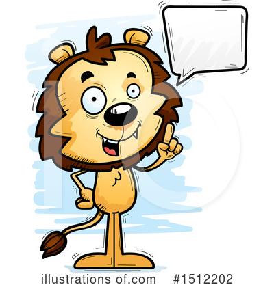 400x420 Male Lion Clipart