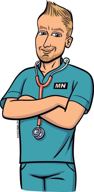 Male Nurse Clipart