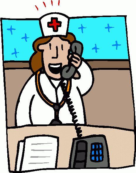 463x588 Nurse Teaching Patient Clipart