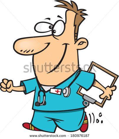 403x470 Simple Nurse Cartoon Clip Art