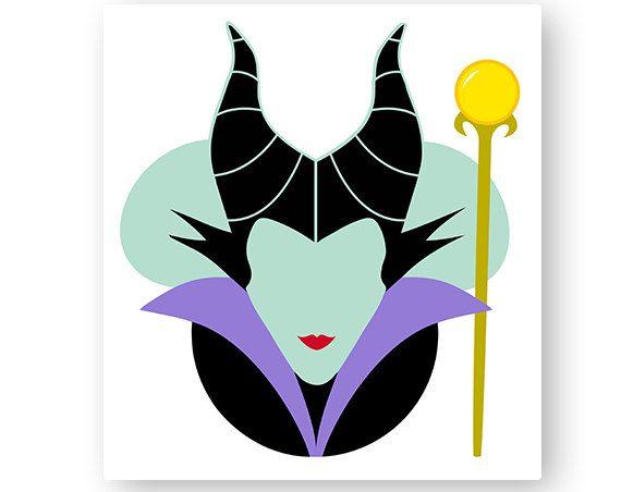 570x452 Disney, Maleficent, Sleeping Beauty, Minnie Head, Icon Mickey