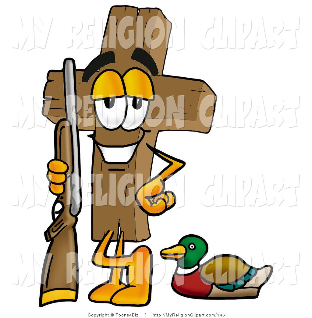 1024x1044 Religion Clip Art Of A Sporty Wooden Cross Mascot Cartoon