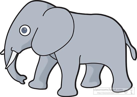 550x392 Free Elephant Clip Art Clipart 3