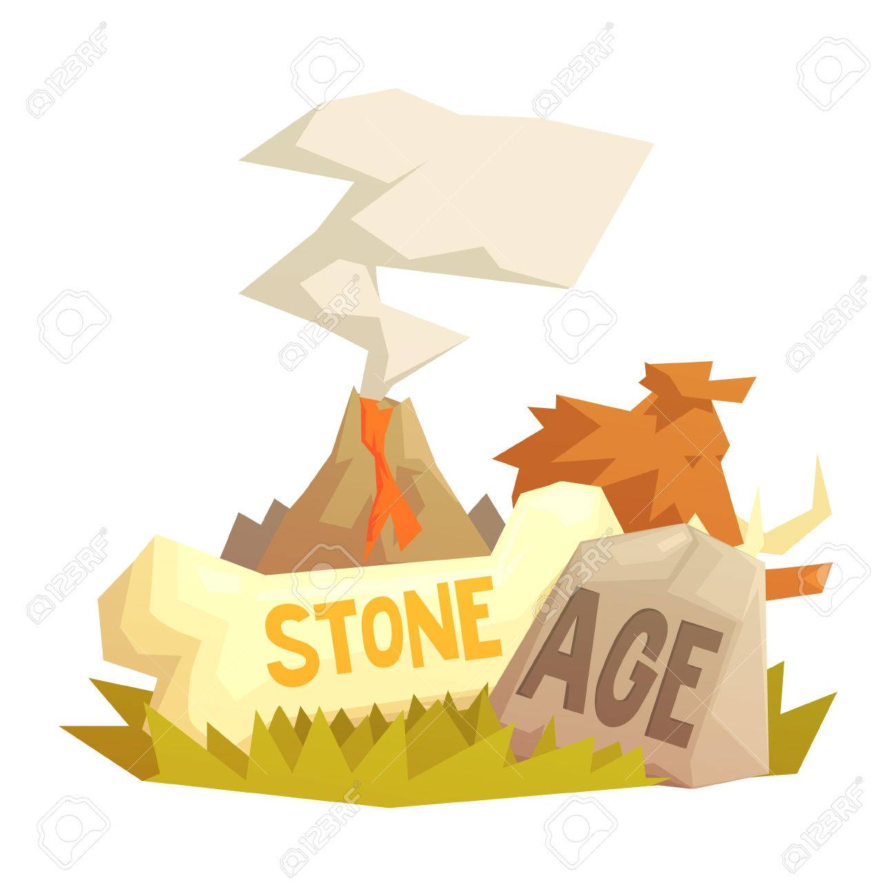 1300x1300 Mammoth Clipart Stone Age