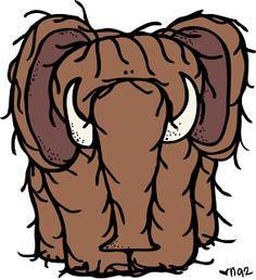 236x258 Melonheadz Illustrating Mammoth Clip Artsy Clip Art