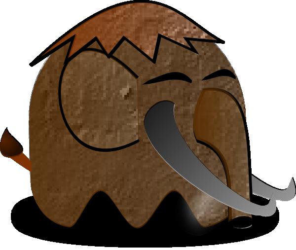 600x507 Cartoon Mammoth Clip Art