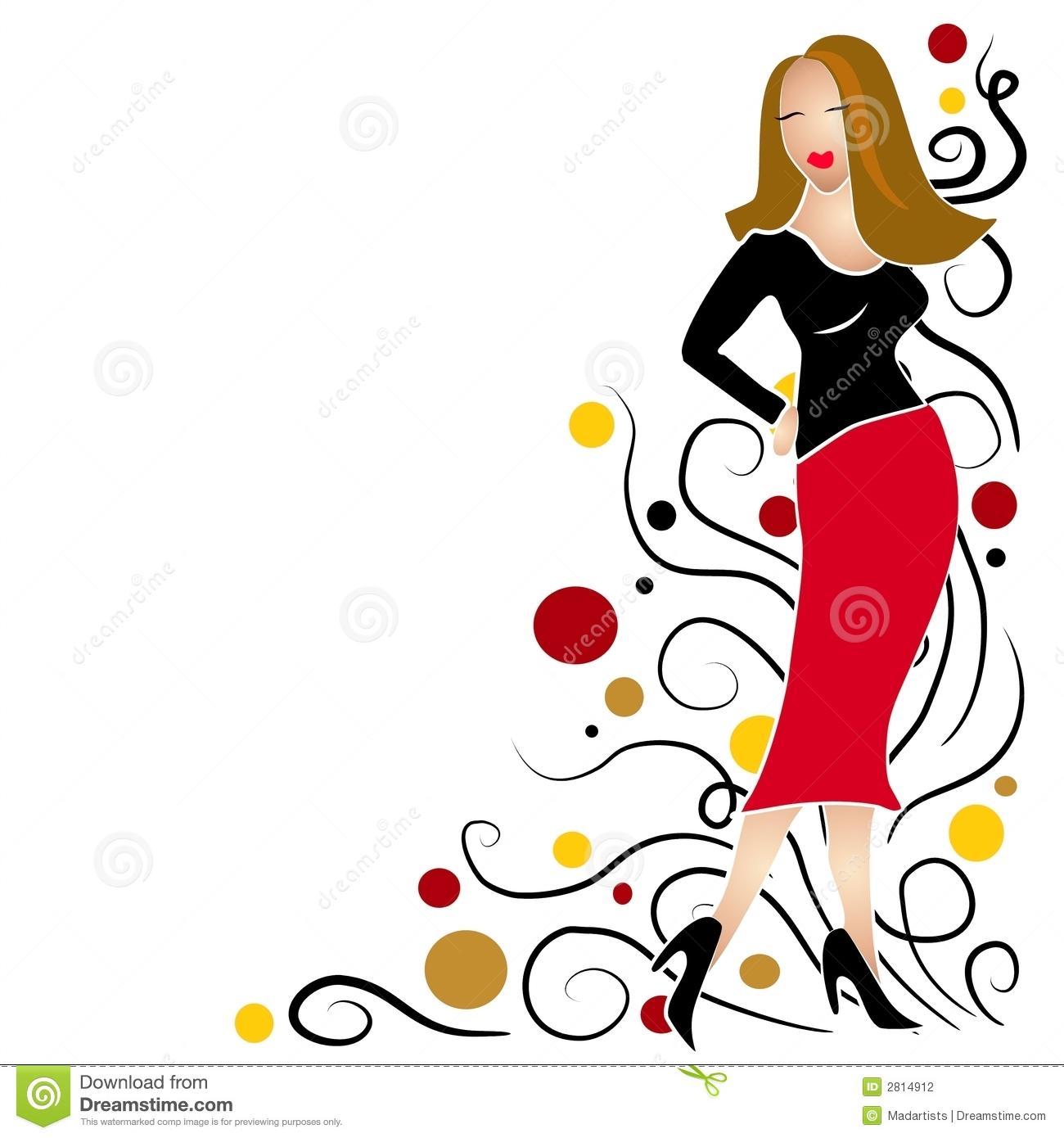 1300x1390 Fashion Clip Art For Women Clipart Panda