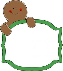 265x300 Gingerbread Clipart Free Gingerbread Man Sign Clip Art Gingerbread