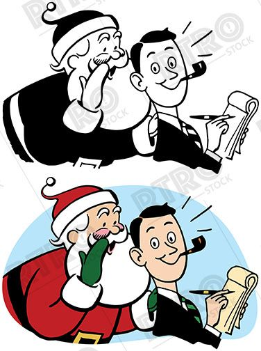 376x504 103 Best Rtro Christmas Images On Clip Art