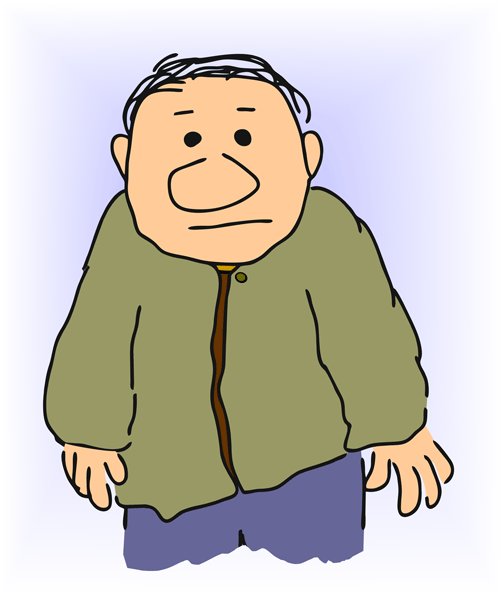 504x600 Free Old Man Clipart Pictures