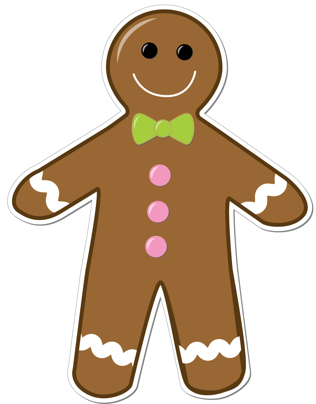 1019x1302 Gingerbread Man Clip Art Amp Gingerbread Man Clipart Images