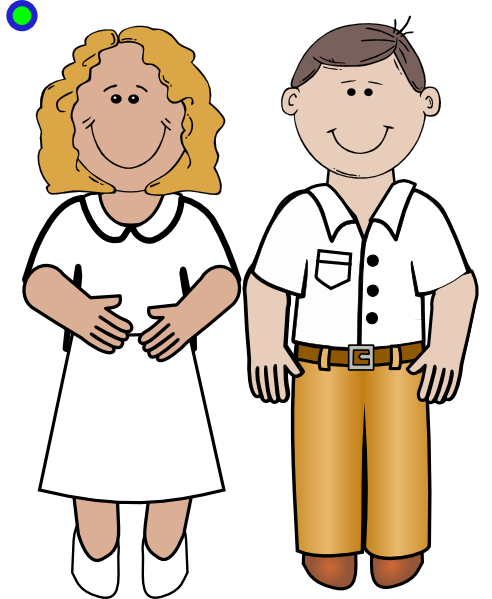 492x599 Man And Woman Clip Art