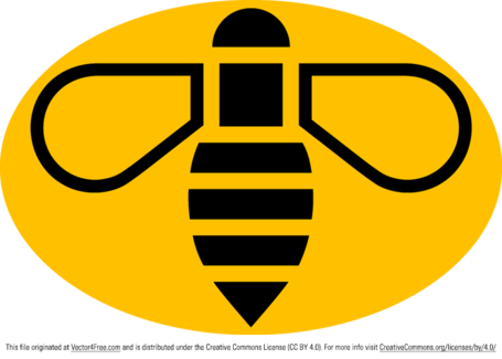 455x325 Free Manchester Bee Vector Logo Clipart And Vector Graphics