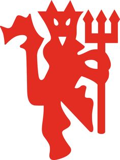 236x314 Mancester United Stencil The Red Devils Football