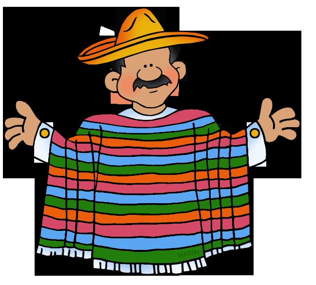 648x585 Mexico Clip Art By Phillip Martin, Mexican Man